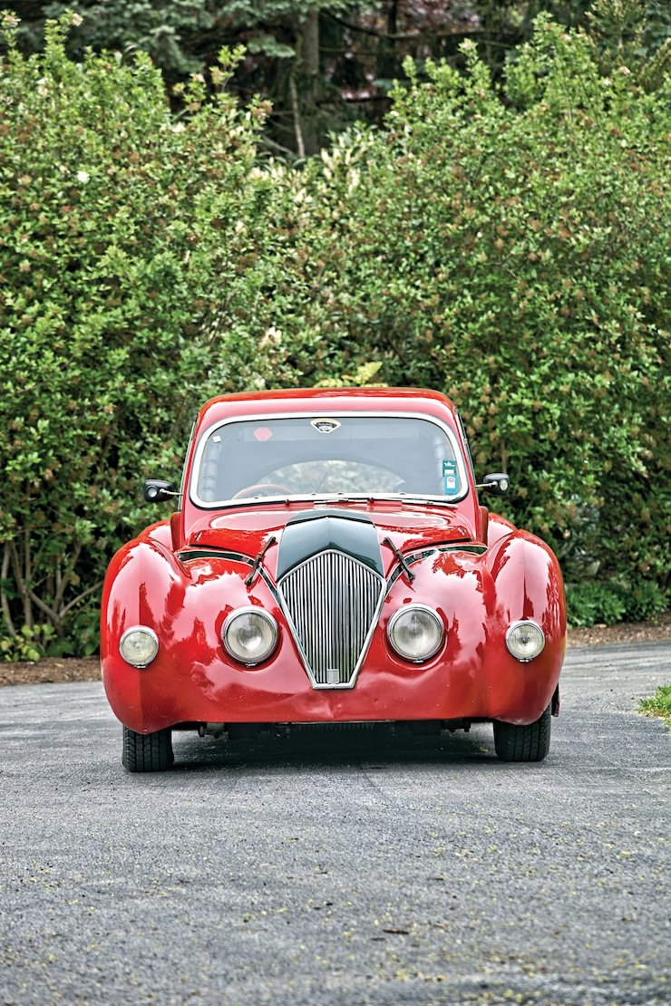1947 Healey Elliott Saloon 6