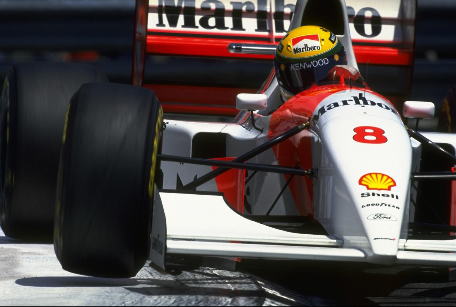 1990 Monaco Grand Prix Formula One Ayrton Senna