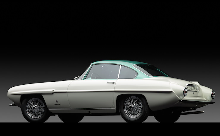Aston Martin Supersonic Carrozzeria Ghia Back