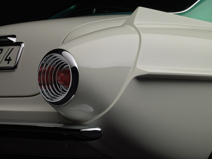 Aston Martin Supersonic Carrozzeria Ghia Detail