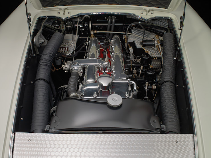 Aston Martin Supersonic Carrozzeria Ghia Engine