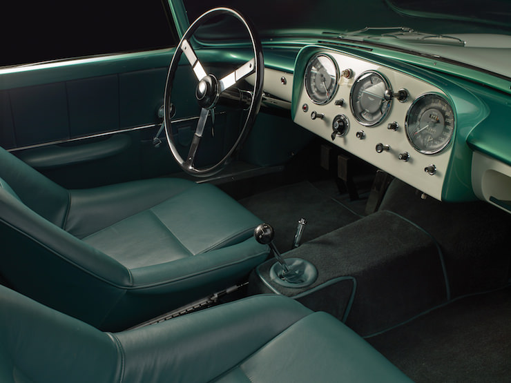 Aston Martin Supersonic Carrozzeria Ghia Interior