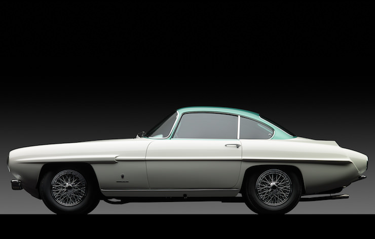 Aston Martin Supersonic Carrozzeria Ghia Side