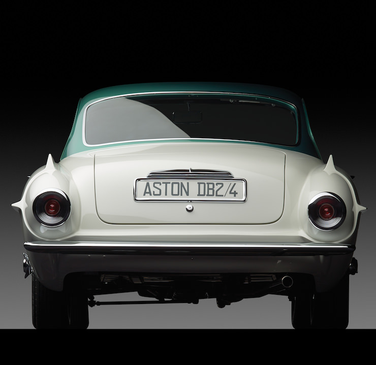 Aston Martin Supersonic Carrozzeria Ghia Tail