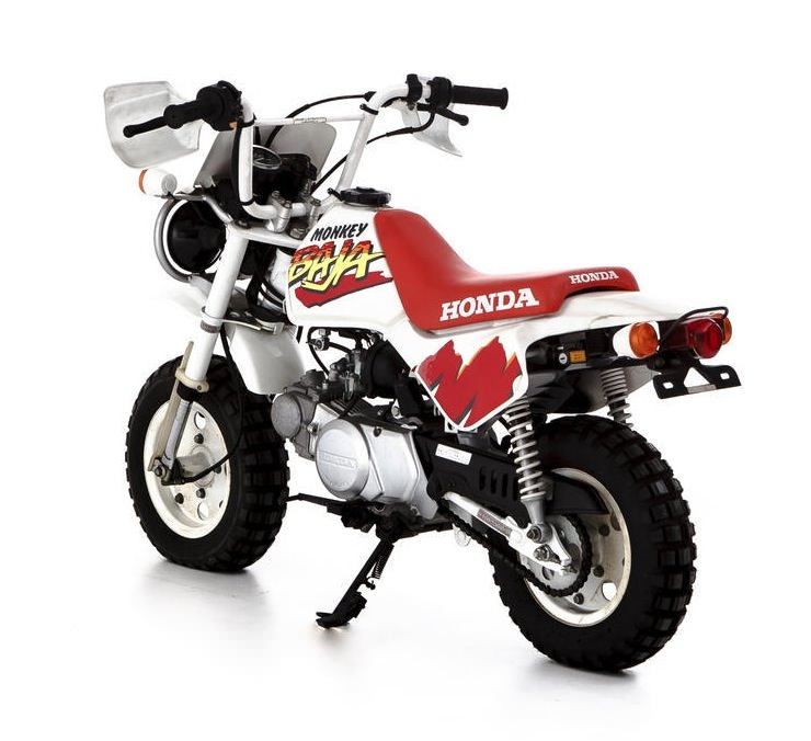 Baja Honda Monkey Motorcycle