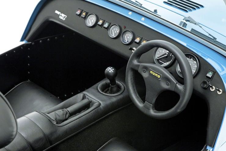 Caterham Seven 160 Interior