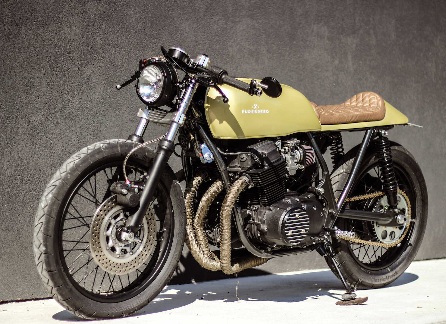 Honda Custom Bikes Wiring Diagrams Motorcycle Diagram Cb750 By Purebreed Fine Motorcycles For Sale