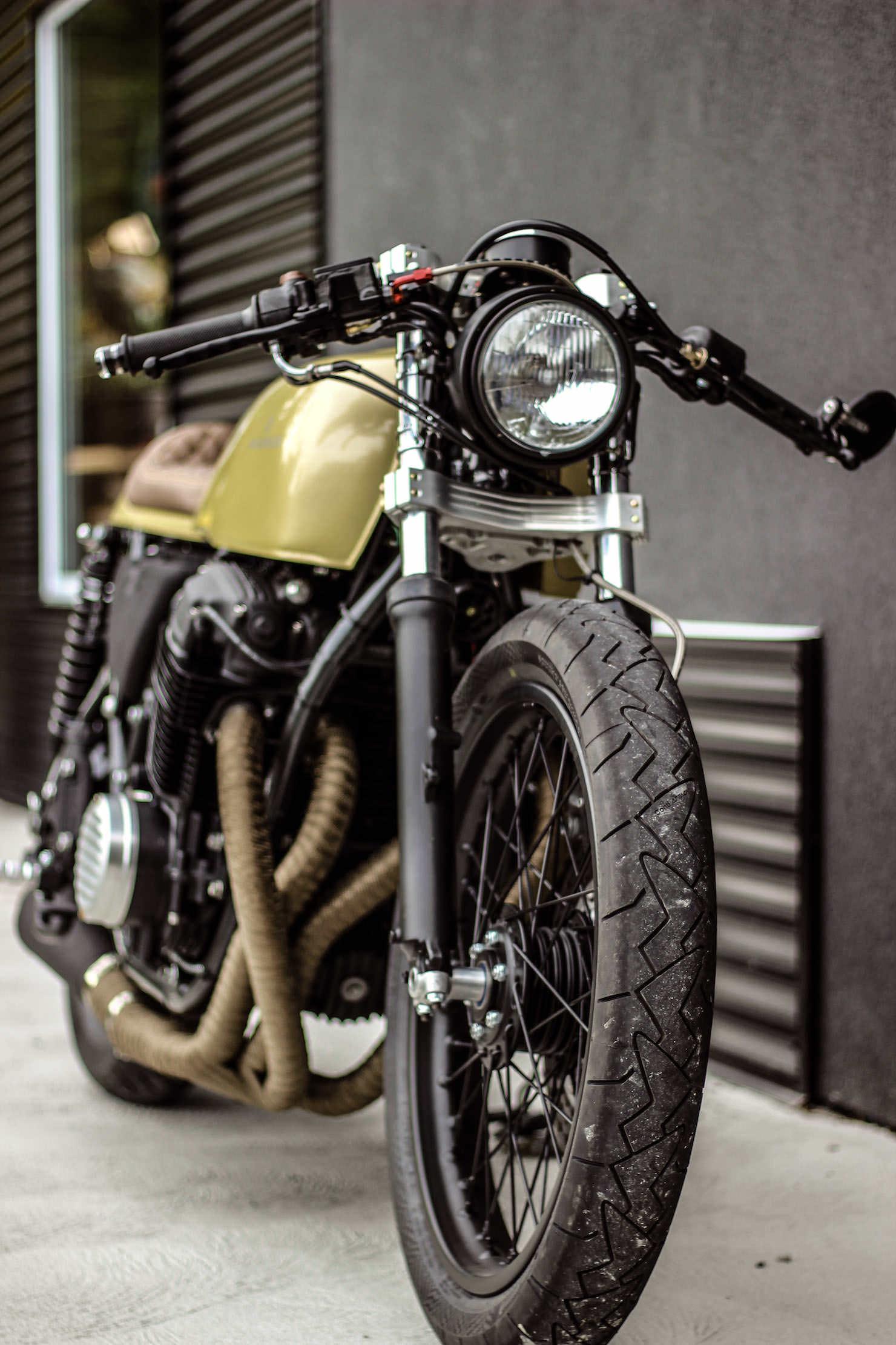 Honda CB750 Custom by Purebreed Fine Motorcycles