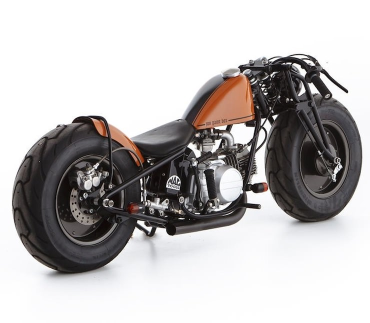 Gas Monkey Cafe Racer