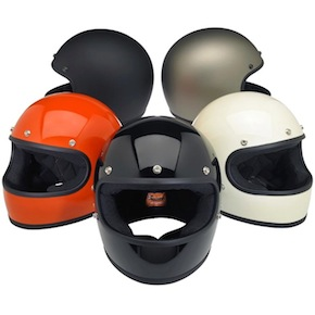 DOT-certified, retro, full-face helmet colours thumbnail