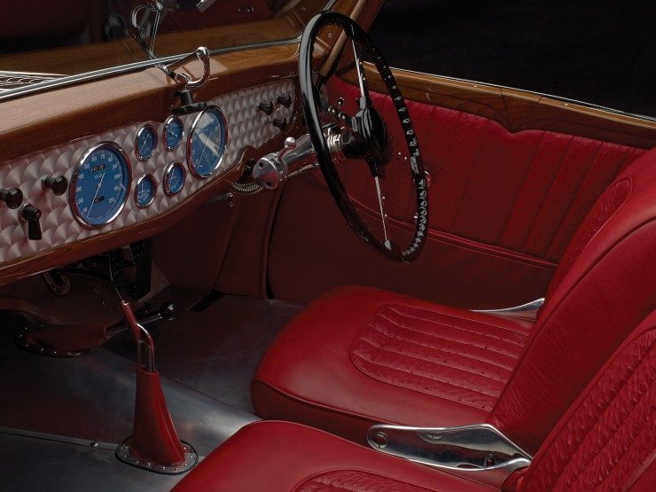 Delahaye Type 135 Dashboard