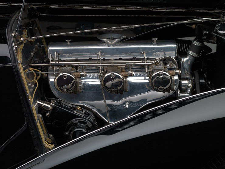 Delahaye Type 135 Engine