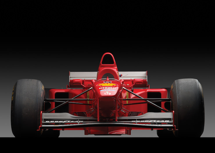 F1 car front wing