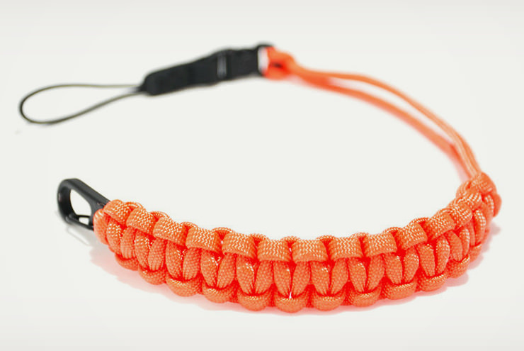 Gear Patrol X DSPTCH Camera Straps Orange