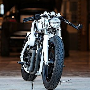 Harley Custom Motorbike 41 - The Racer by DP Customs