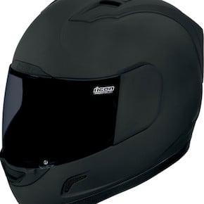 Icon Alliance Dark Helmet Front1 - Icon Alliance Dark