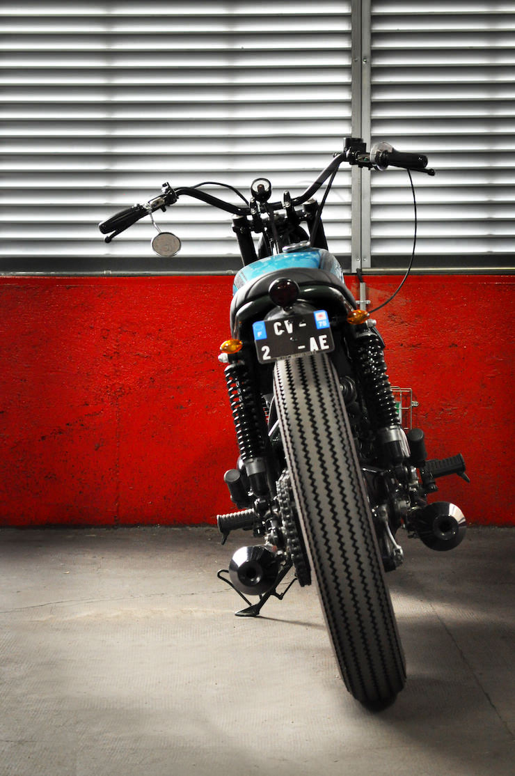 Kawasaki W650 Motorcycle Custom 10