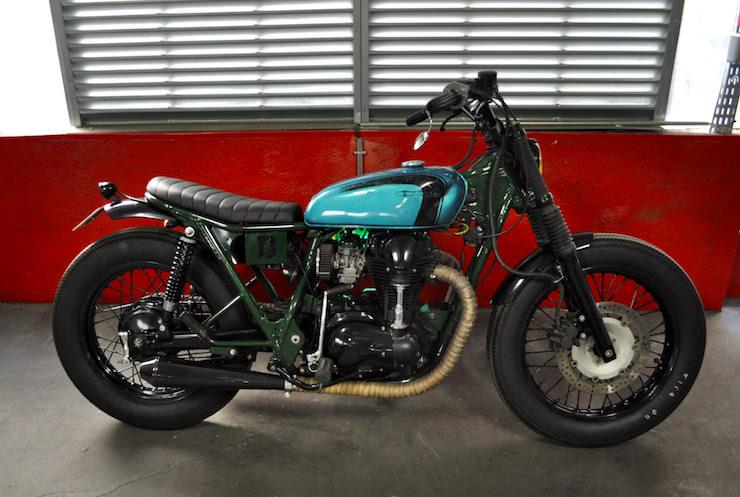Kawasaki W650 Motorcycle Custom 6