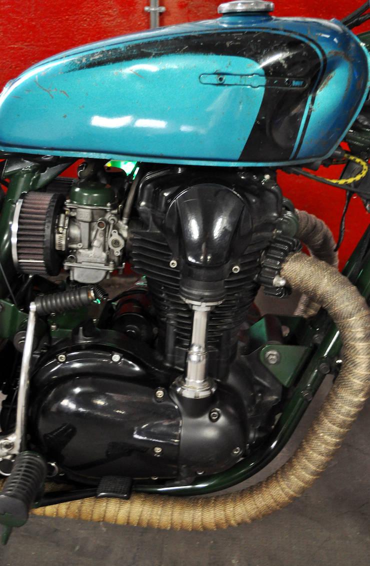 Kawasaki W650 Motorcycle Custom 7