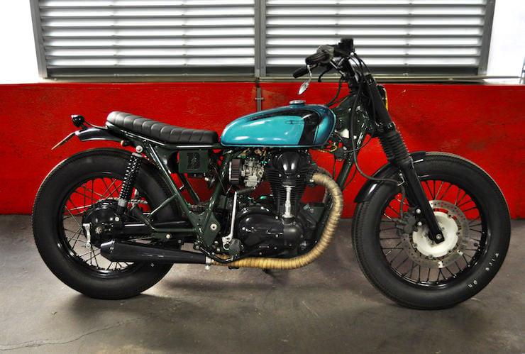 Kawasaki W650 Motorcycle Custom 9