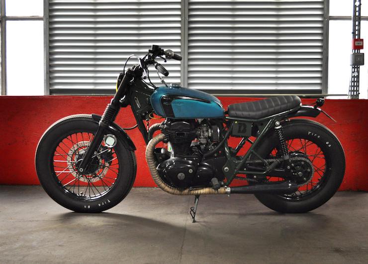 Kawasaki W650 Motorcycle Custom