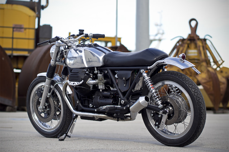Moto Guzzi Custom 2 Moto Guzzi Custom by Officine Rossopuro
