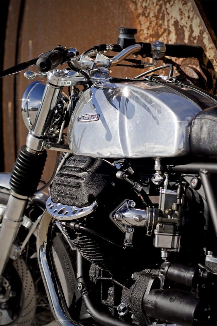 Moto Guzzi Custom 3 Moto Guzzi Custom by Officine Rossopuro