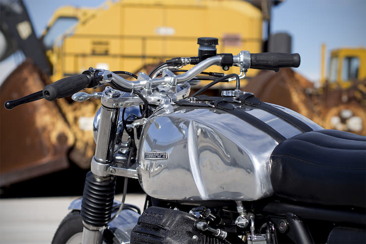 Moto Guzzi Custom 4 Moto Guzzi Custom by Officine Rossopuro