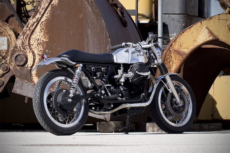Moto Guzzi Custom 5 Moto Guzzi Custom by Officine Rossopuro
