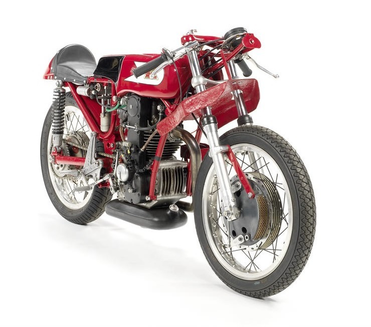 Moto Morini Bialbero Racing Motorcycle 1