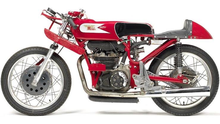 Moto Morini Bialbero Racing Motorcycle 2