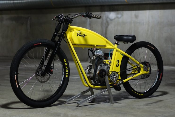 Board tracker by wolf creative customs Best frame for motorized bicycle