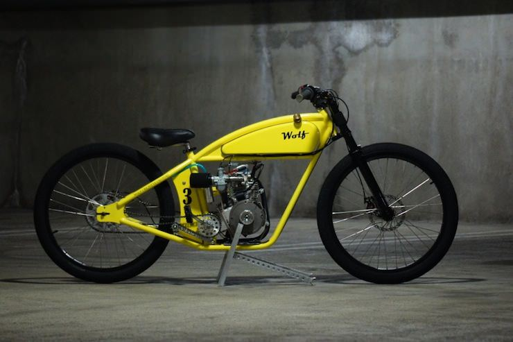 Kawasaki Motorized Bicycle