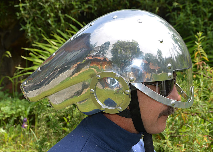 How To Build An Art Deco Motorcycle Helmet