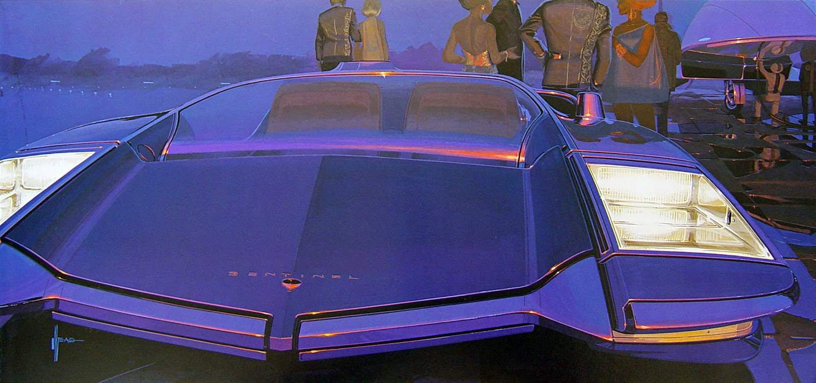 Sentinel By Syd Mead