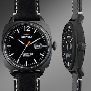 Shinola Watch Front Thumbnail - The Brakeman Watch by Shinola