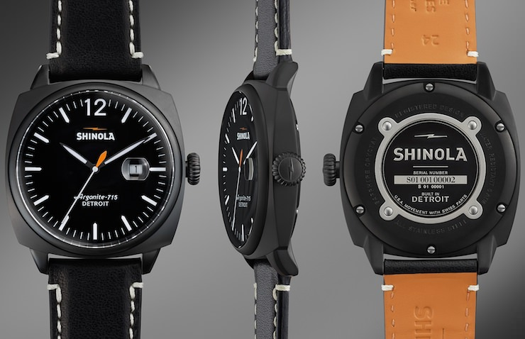 Shinola Watch Front