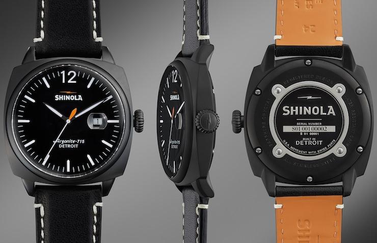 Shinola Watch Front