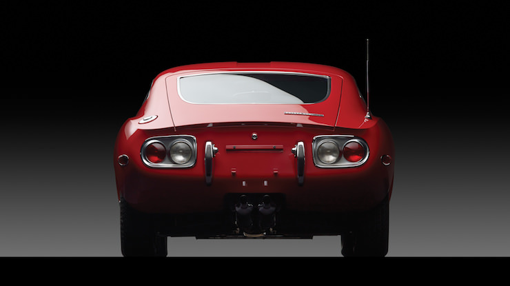 Toyota 2000GT Back End