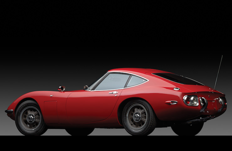 Toyota 2000GT Back