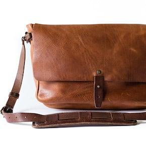 Vintage Messenger Bag by Whipping Post1 - Vintage Messenger Bag by Whipping Post