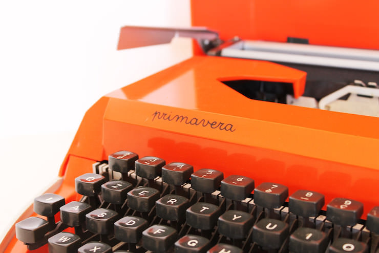 Vintage Primavera Typewriter