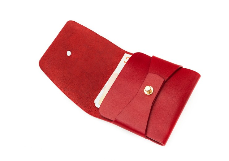 red stitchless wallet_03