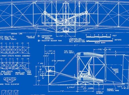 1903 Wright Flyer Blueprints Free Download2 450x330 - 1903 Wright Flyer Blueprints - Free Download