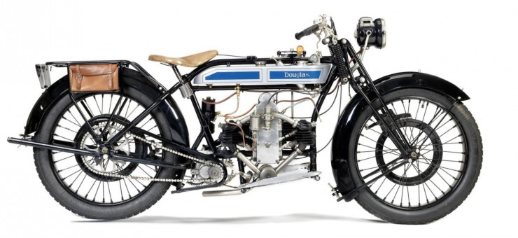 1925 DOUGLAS 2¾HP MODEL CW