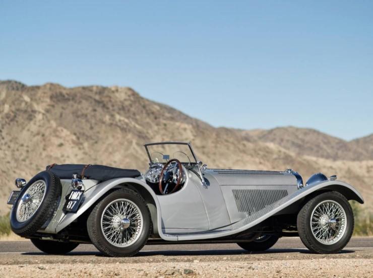 1938 SS 100 Jaguar 3½-Litre Roadster 1