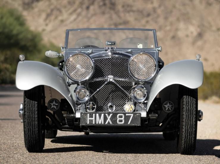 1938 SS 100 Jaguar 3½-Litre Roadster 5