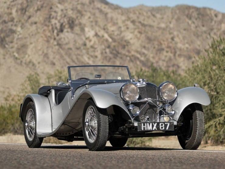 1938 SS 100 Jaguar 3½-Litre Roadster 8