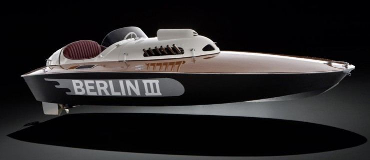 1950 Berlin lll E2 Class racing sports boat 2