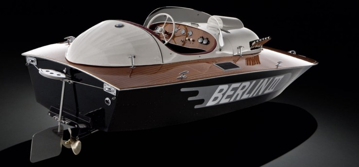 1950 Berlin lll E2 Class racing sports boat 4